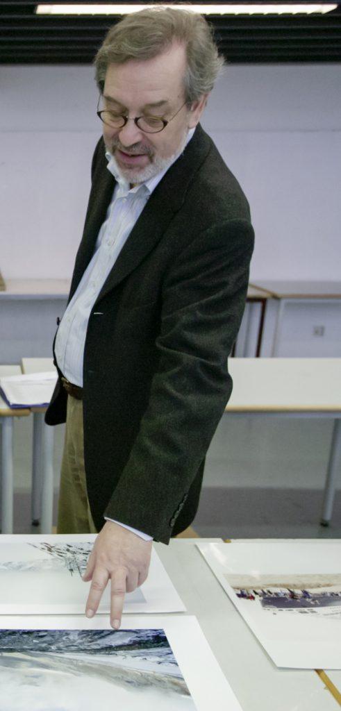 Hans Eberhard Hess im Jahr 2007 - Foto: Winfried Dechau